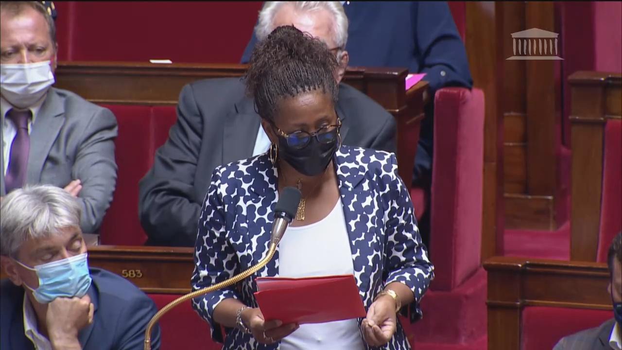 La députée de Martinique Manuéla KÉCLARD MONDÉSIR intervient à l'Assemblée sur la situation sanitaire en Outre mer