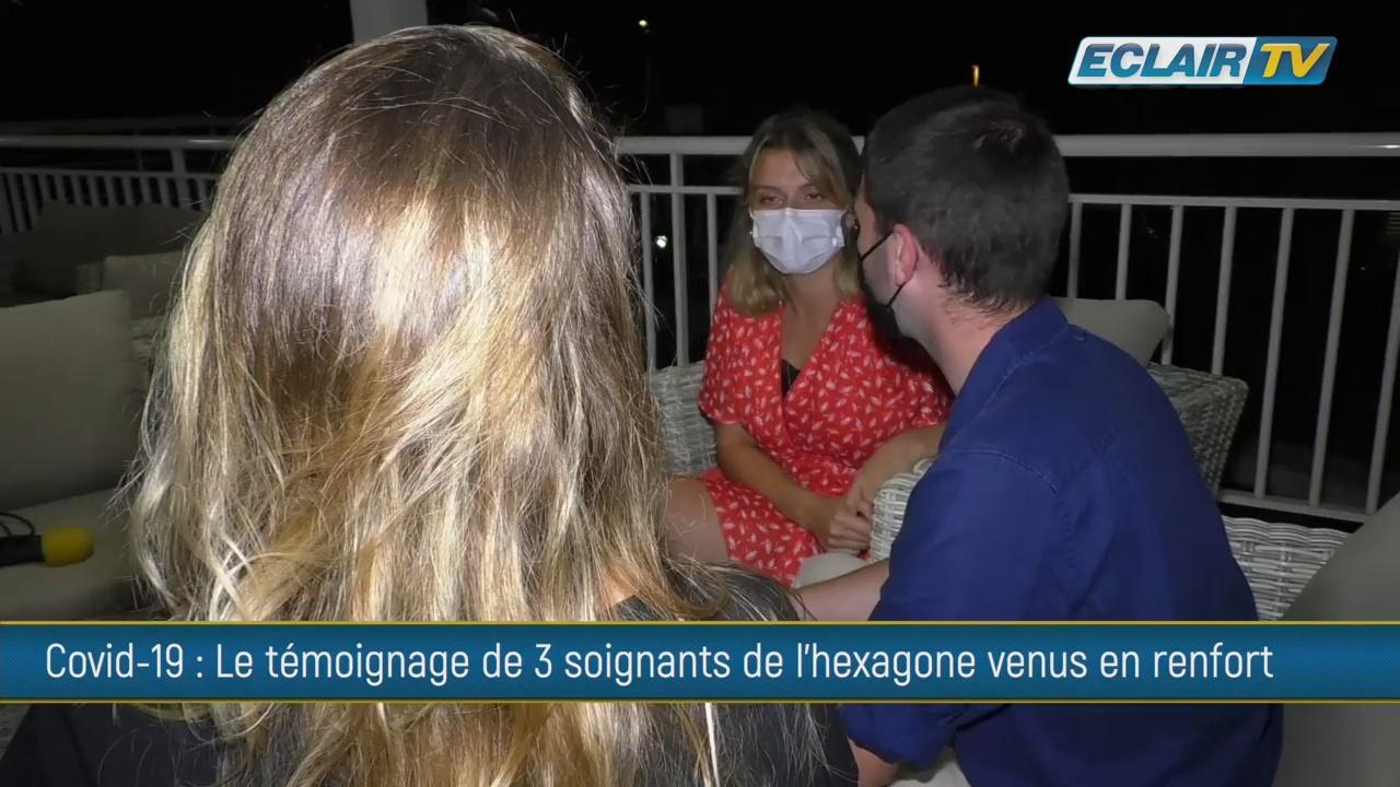 [Vidéo] Onews Guadeloupe. Témoignages de soignants venus en renfort de l Hexagone