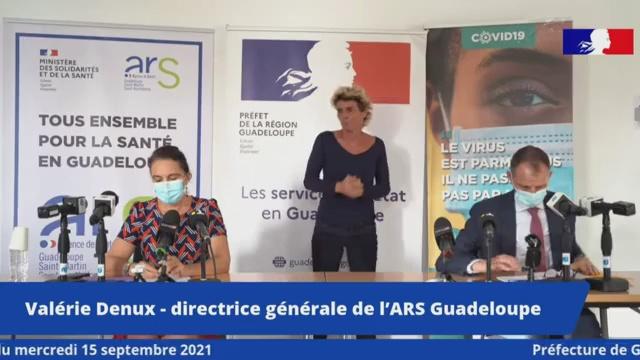 [Vidéo] Onews Guadeloupe.Point  Covid. Baisse des contaminations. le confinement sera allégé le 22 septembre