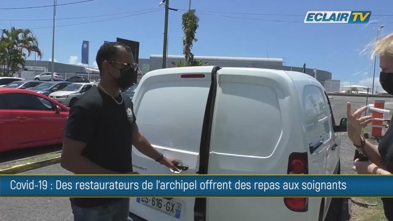 Guadeloupe. Covid. Solidarité. Des restaurateurs offrent des repas aux soignants