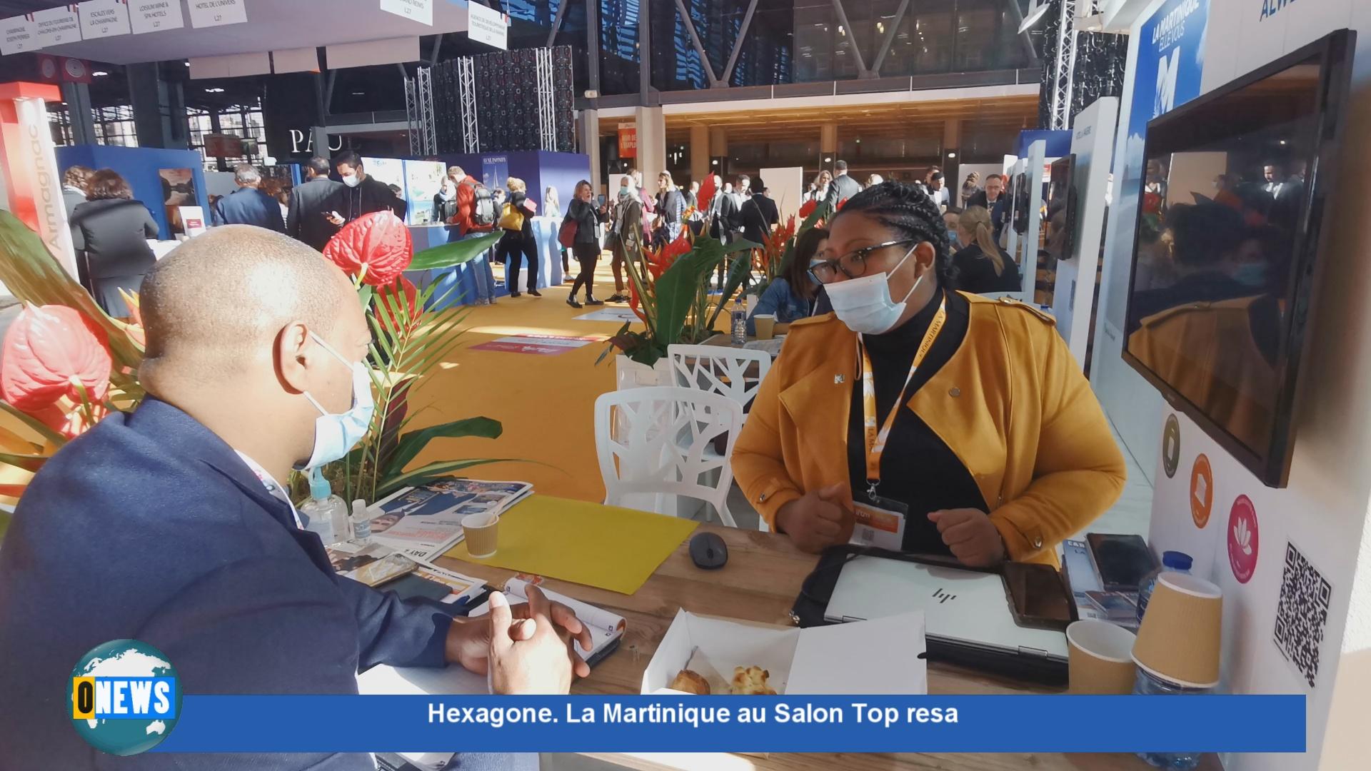 [Vidéo] Hexagone. Onews sur le stand Martinique au Top resa
