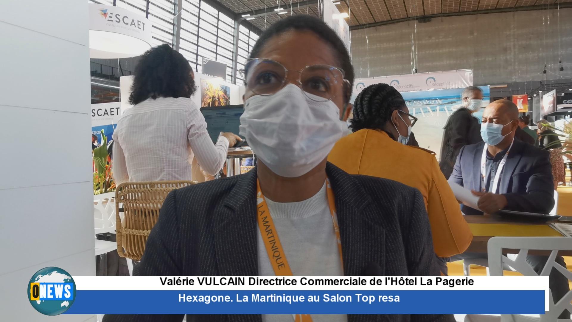 [Vidéo] Hexagone. Des exposants sur le stand Martinique au Top resa