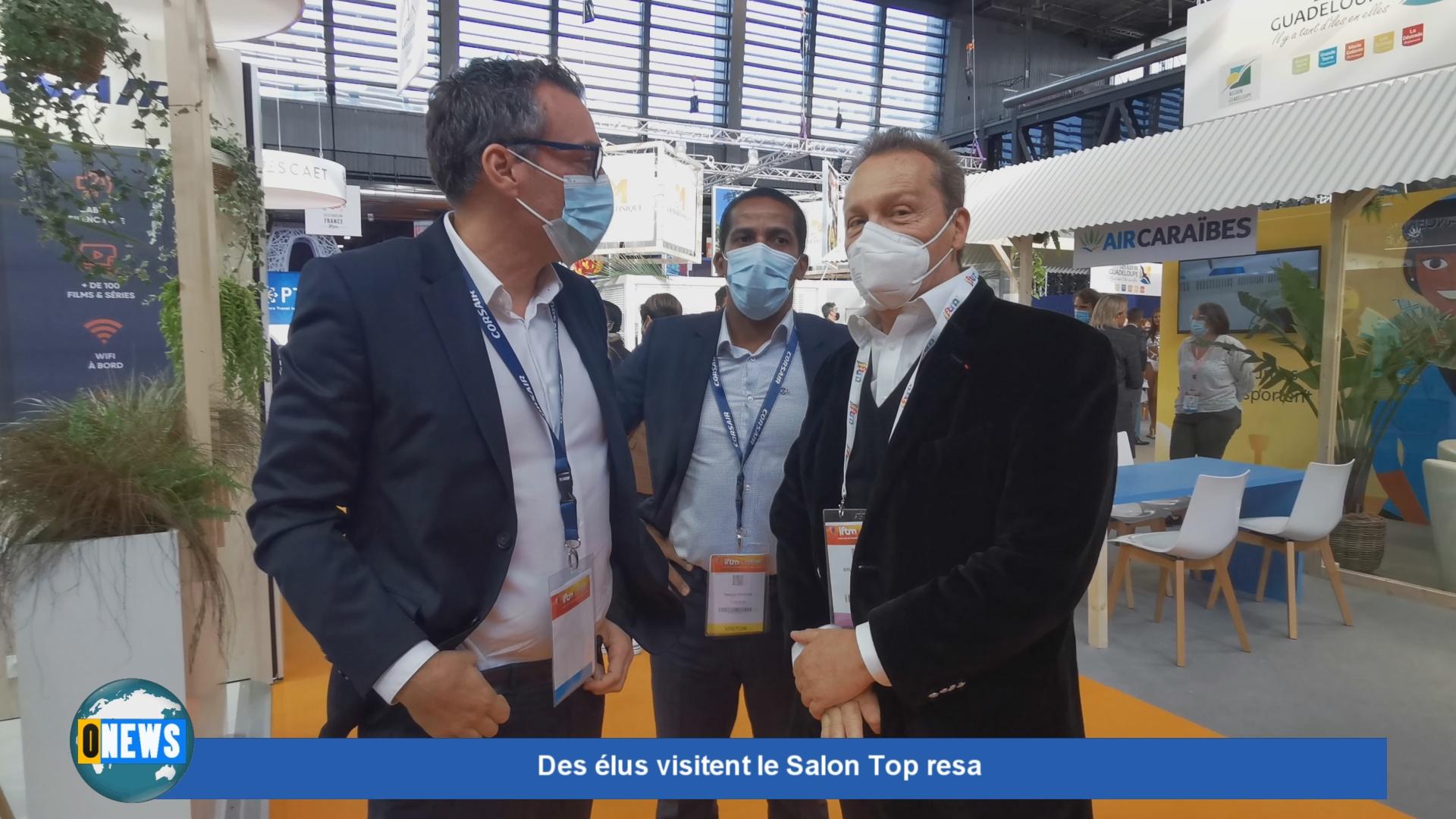 [Vidéo] Hexagone. Olivier SERVA Député et Bruno BLANDIN Président du MEDEF au Top Resa