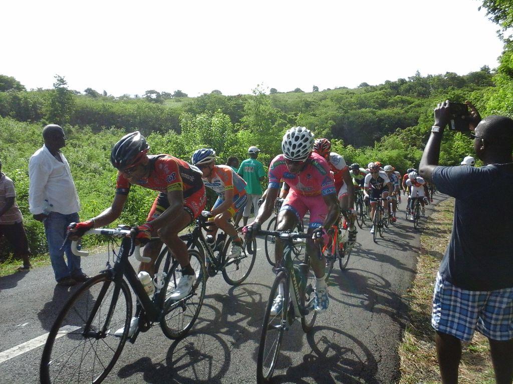 GUADELOUPE. Marie-Galante. Tour Cycliste 2016.