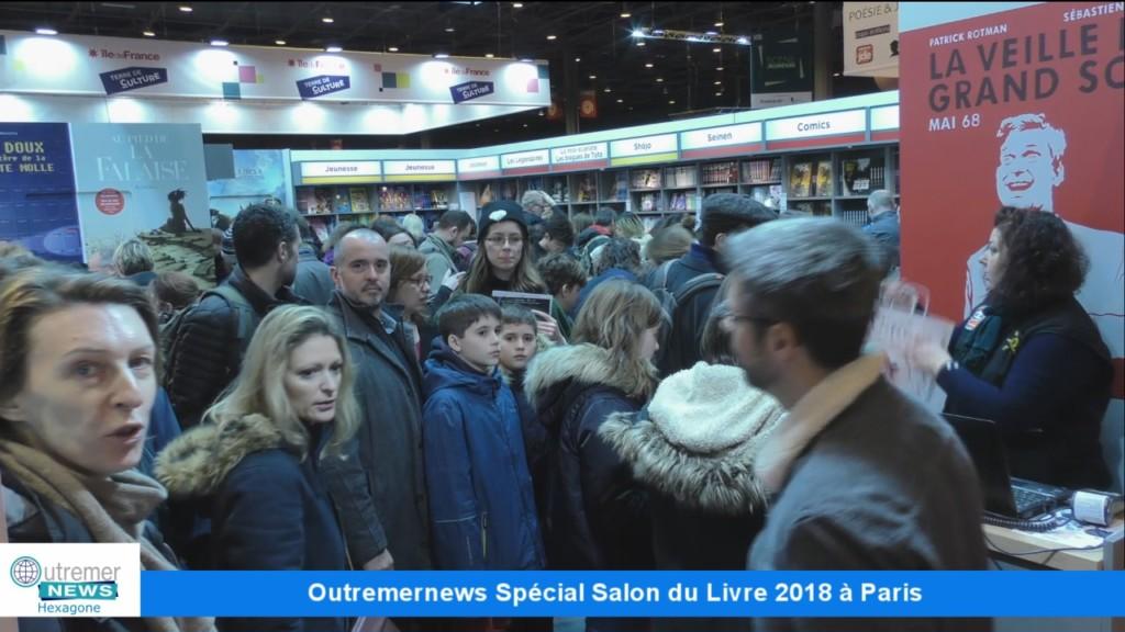 Vid o hexagone les outre mer et ha ti au salon du livre for Salon du livre paris 2018