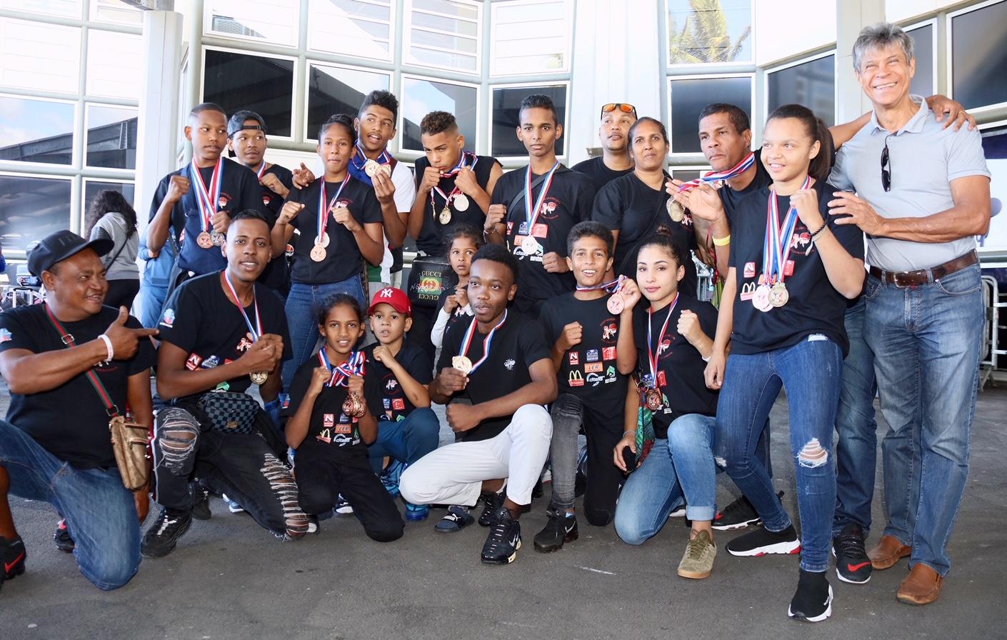 REUNION. Foison de médailles pour les jeunes du Kibio Boxing Club du Chaudron aux Championnats de France 25 médailles dont 8 en or