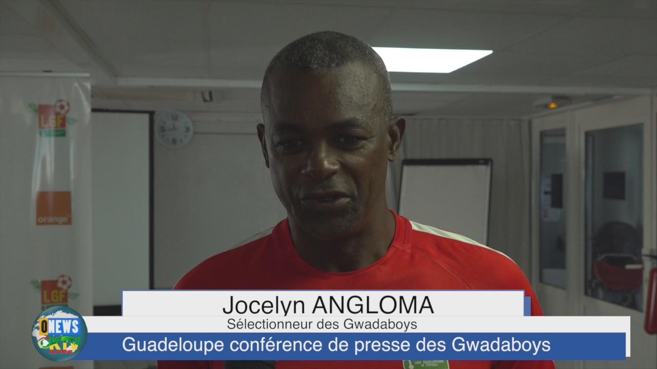 [Vidéo] Outremernews Guadeloupe. Conférence de Presse des Gwadaboys