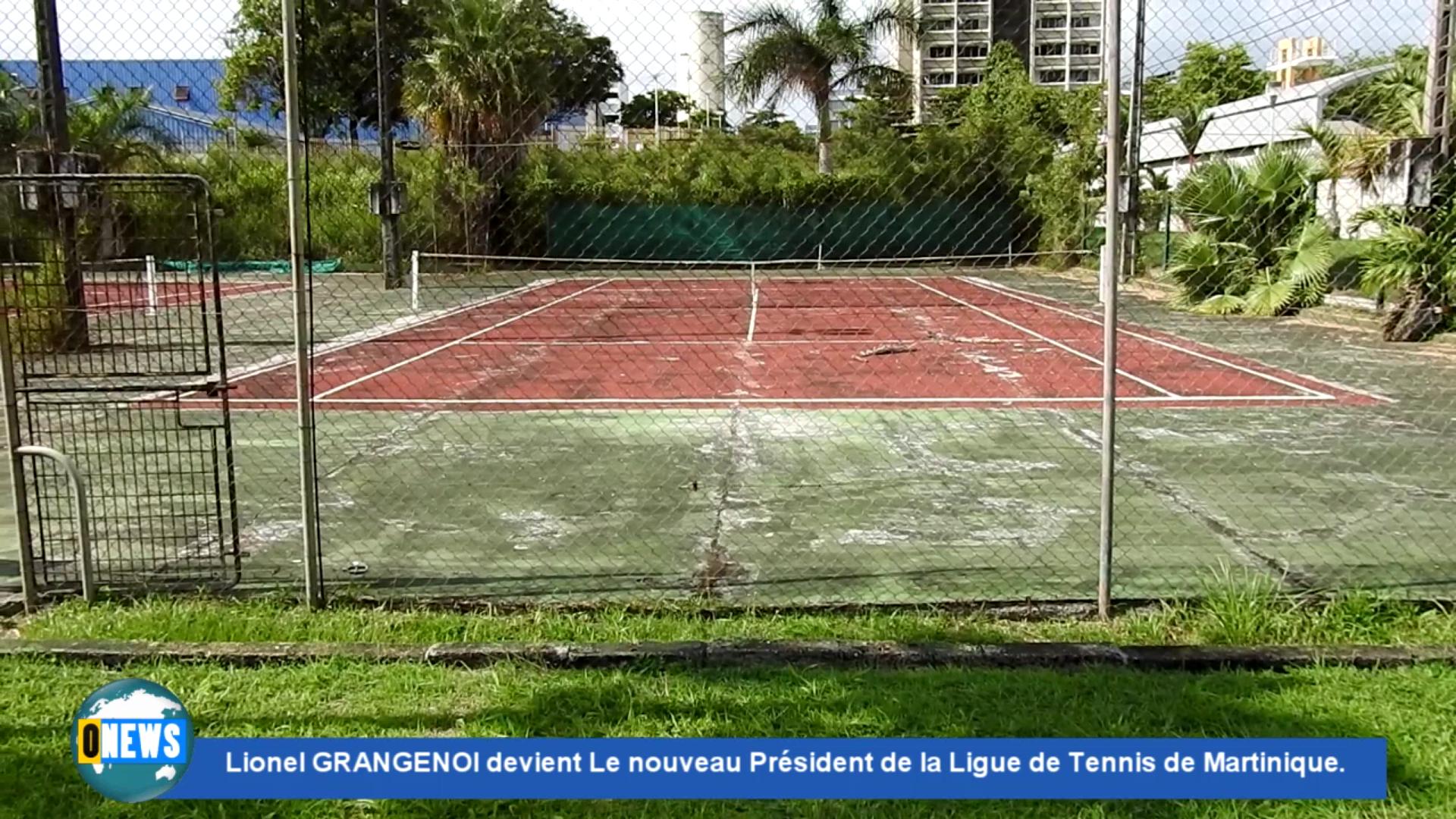 [Vidéo] Onews Martinique. Un nouveau Président au sein de la Ligue de Tennis Martinique