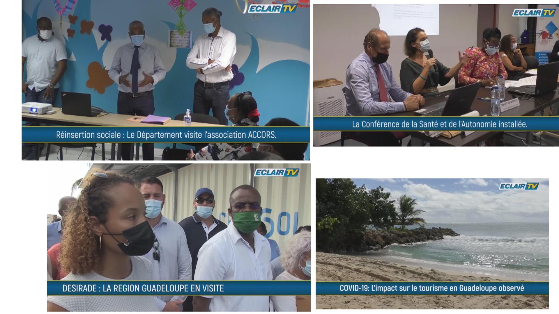 [Vidéo] Onews Guadeloupe. Flash Infos avec ECLAIR TV