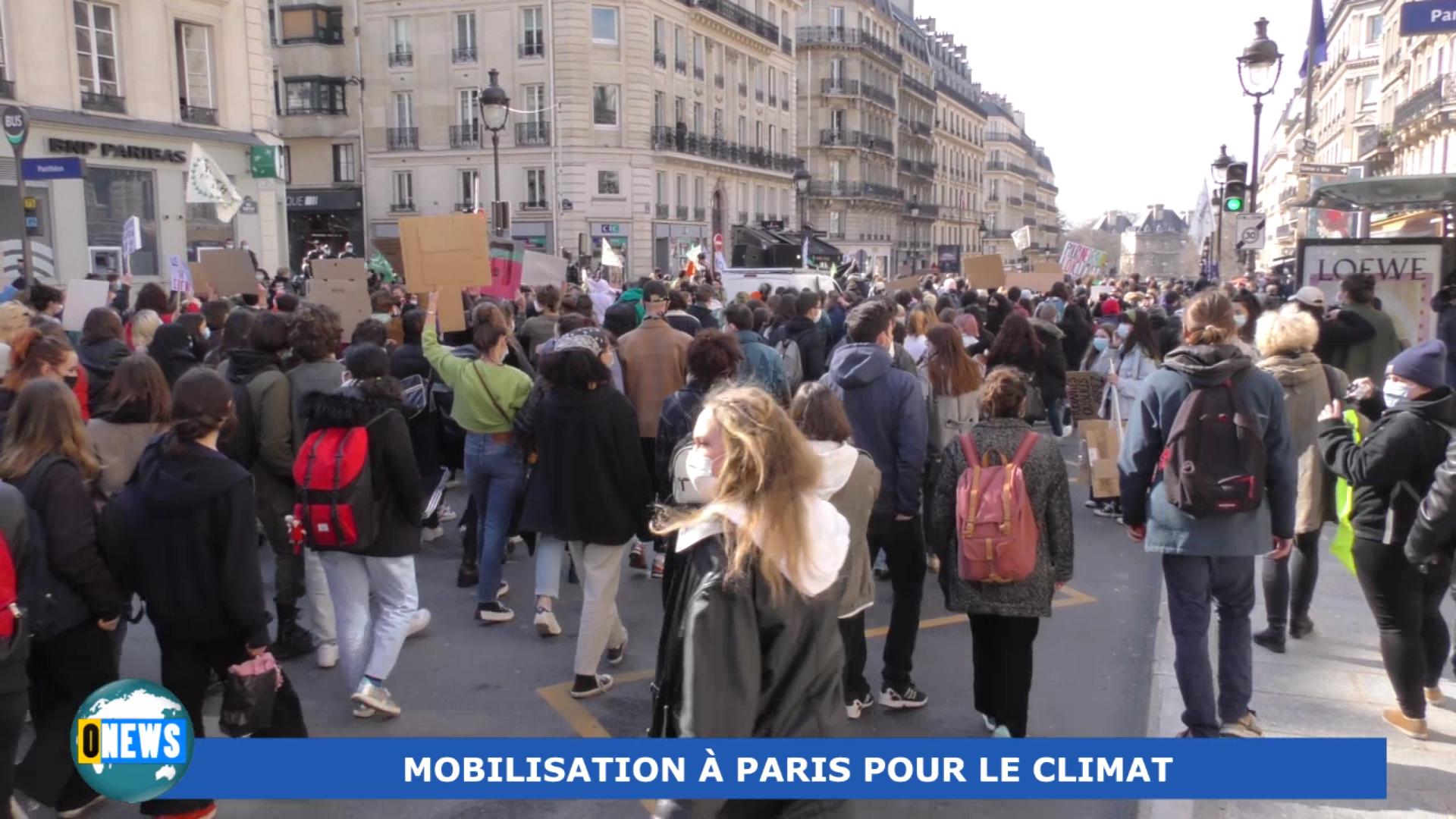 [Vidéo] Onews Hexagone. Mobilisation pour le climat à Paris ce vendredi