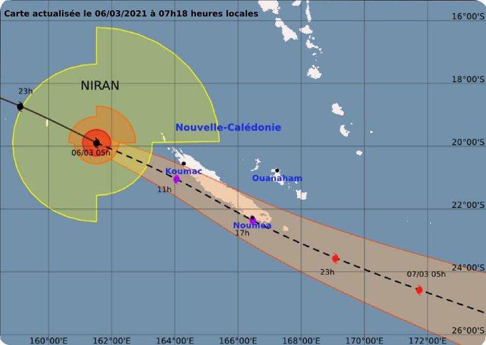 Nouvelle calédonie. Flash spécial cyclone NIRAN avec nos confrères de RRB