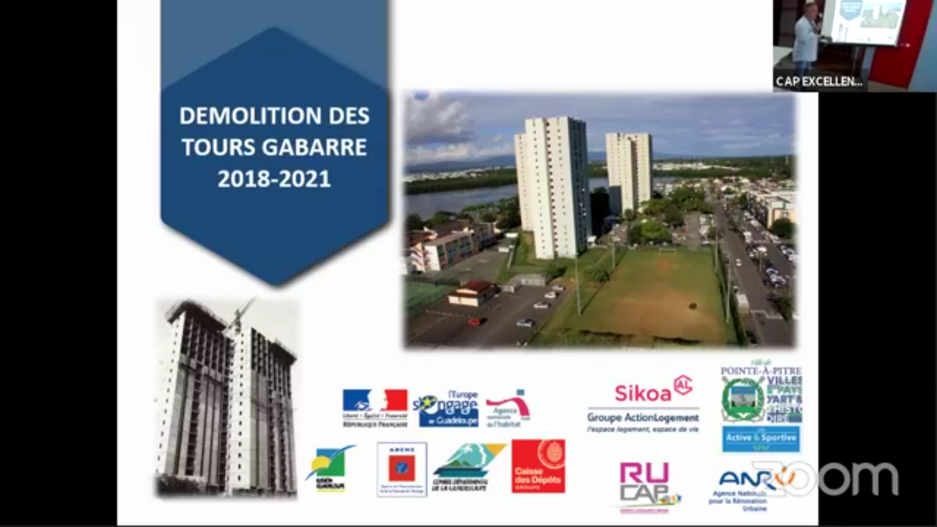 [Vidéo] Onews Guadeloupe. Réunion d'information sur la démolition des tours Gabarre