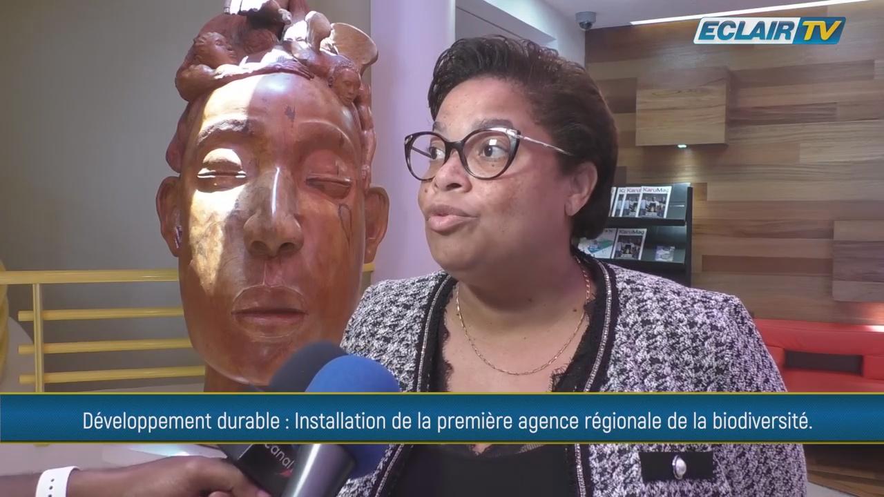 [Vidéo] Guadeloupe. Sylvie Gustave dit Duflo 1ère Présidente de l'Agence Régionale Biodiversité des Iles de Guadeloupe