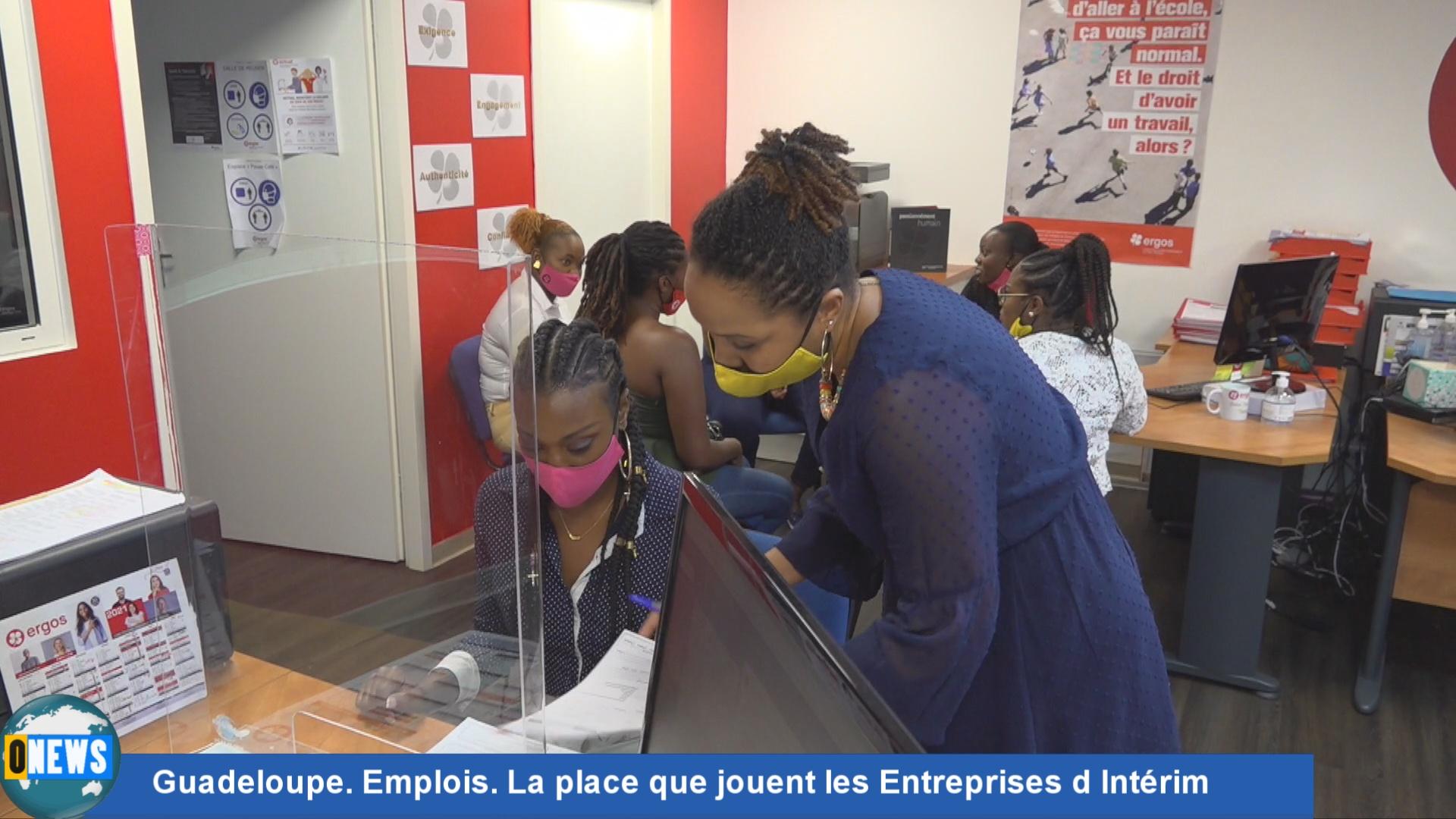 [Vidéo] Guadeloupe. Emplois. La place que jouent les Entreprises d Intérim