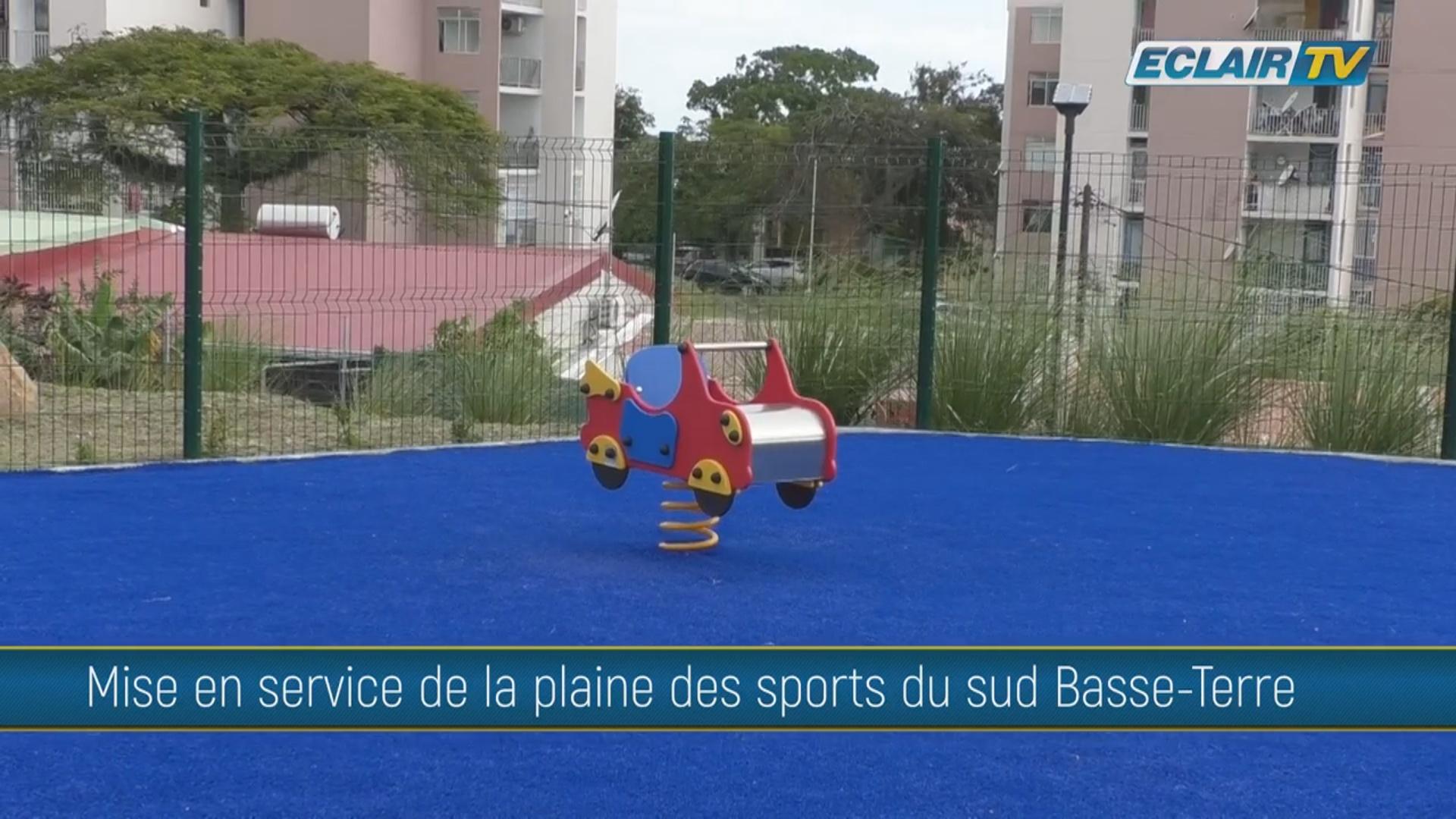 [Vidéo] Onews Guadeloupe. Mise en service de la Plaine des sports du Sud Basse-Terre (Eclair tv)