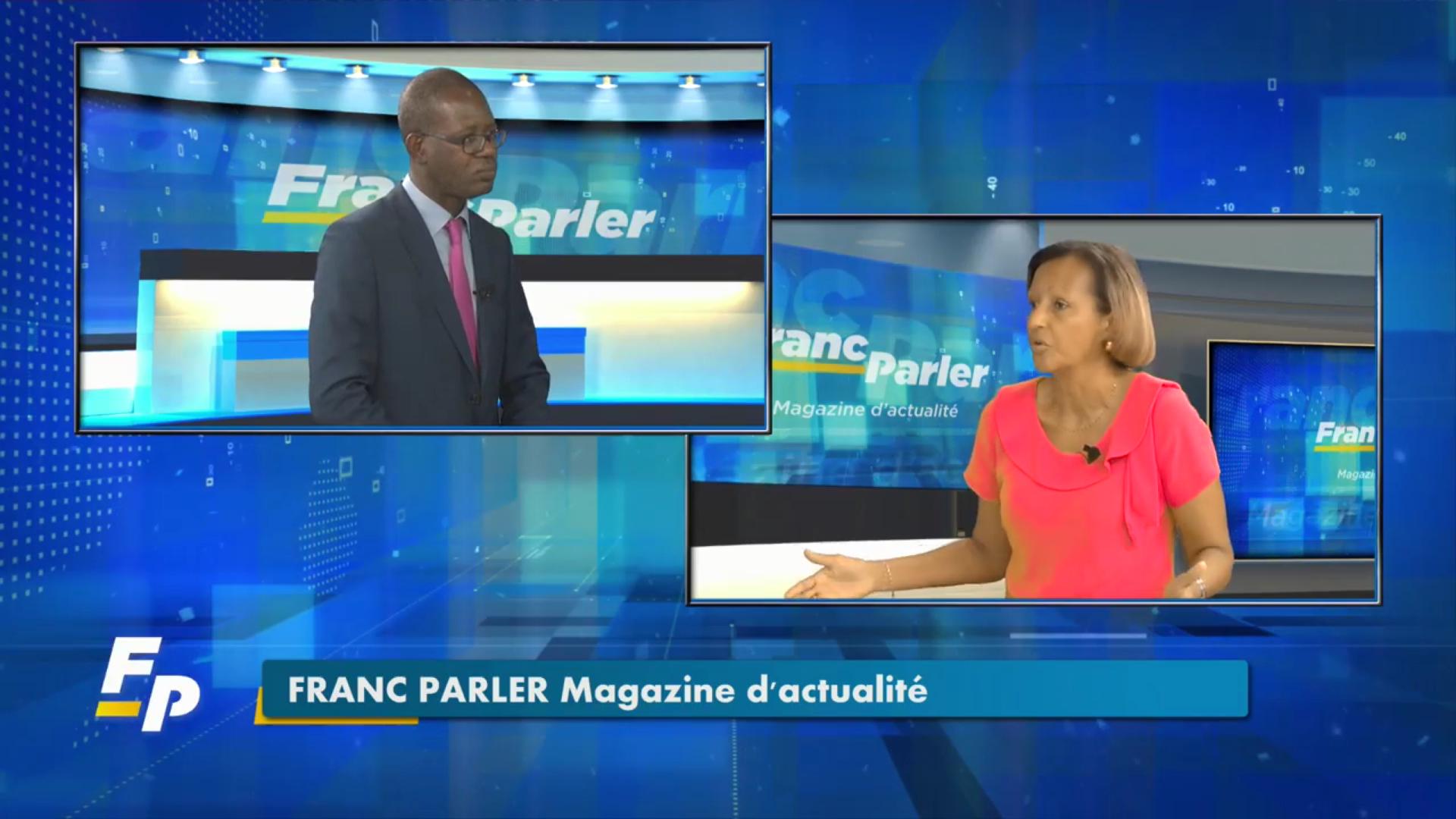 [Vidéo] Onews Guadeloupe. Marie Luce PENCHARD Vice Présidente de la Région invitée de Franc parler (Eclair Tv)