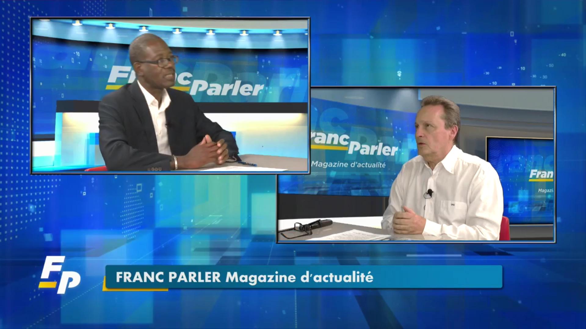 [Vidéo] Onews Guadeloupe. Bruno BLANDIN Président de l'UDE-MEDEF invité de Franc Parler (Eclair Tv)
