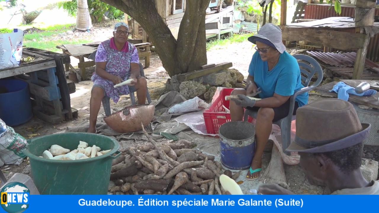 [Vidéo] Onews Guadeloupe. Édition spéciale Marie Galante (suite)