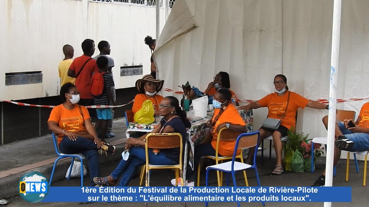 Onews Martinique. 1ère édition du festival de la production locale à Rivière Pilote.