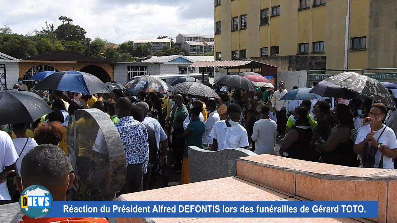 [Vidéo] Onews Martinique. Obsèques du Cycliste Gérard TOTO heurté il y a quelques jours par un automobiliste