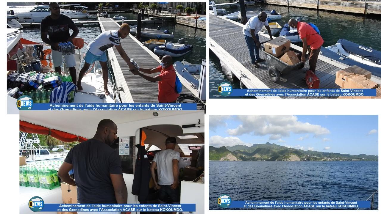 [Vidéo] Martinique. Acheminement de l aide humanitaire pour les enfants de Saint Vincent suite à l'éruption du Volcan de la Soufrière