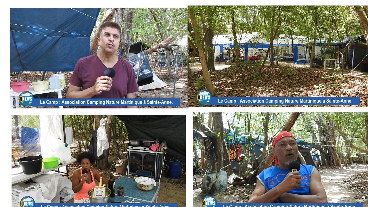 [Vidéo] Martinique. Association camping nature à Sainte Anne