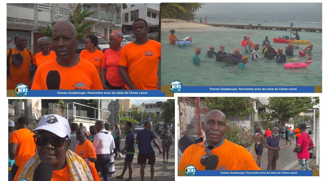 [Vidéo] Guadeloupe.  Rencontre avec les amis de l Anse Canot