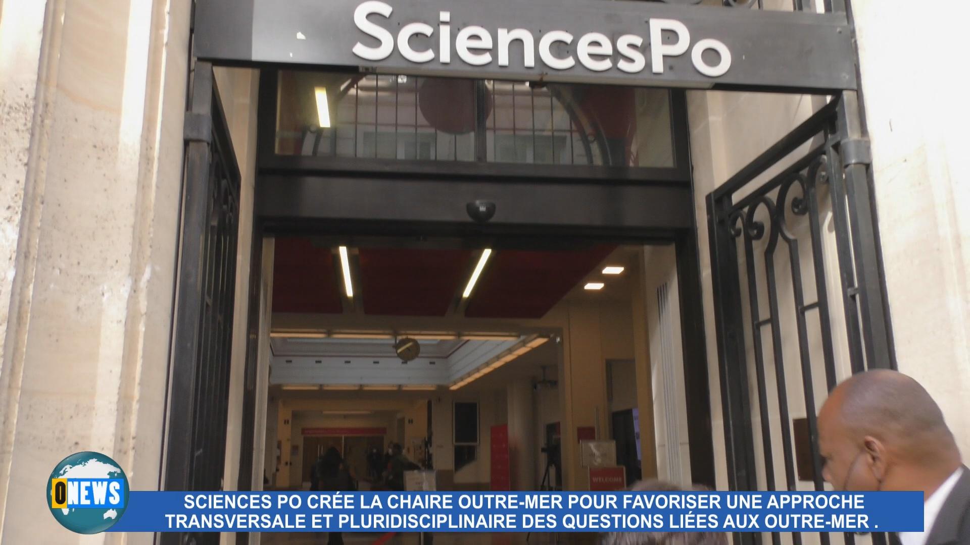 [Vidéo] Hexagone. Conférence inaugurale à Paris de la Chaire Outre mer instituée par Sciences Po.