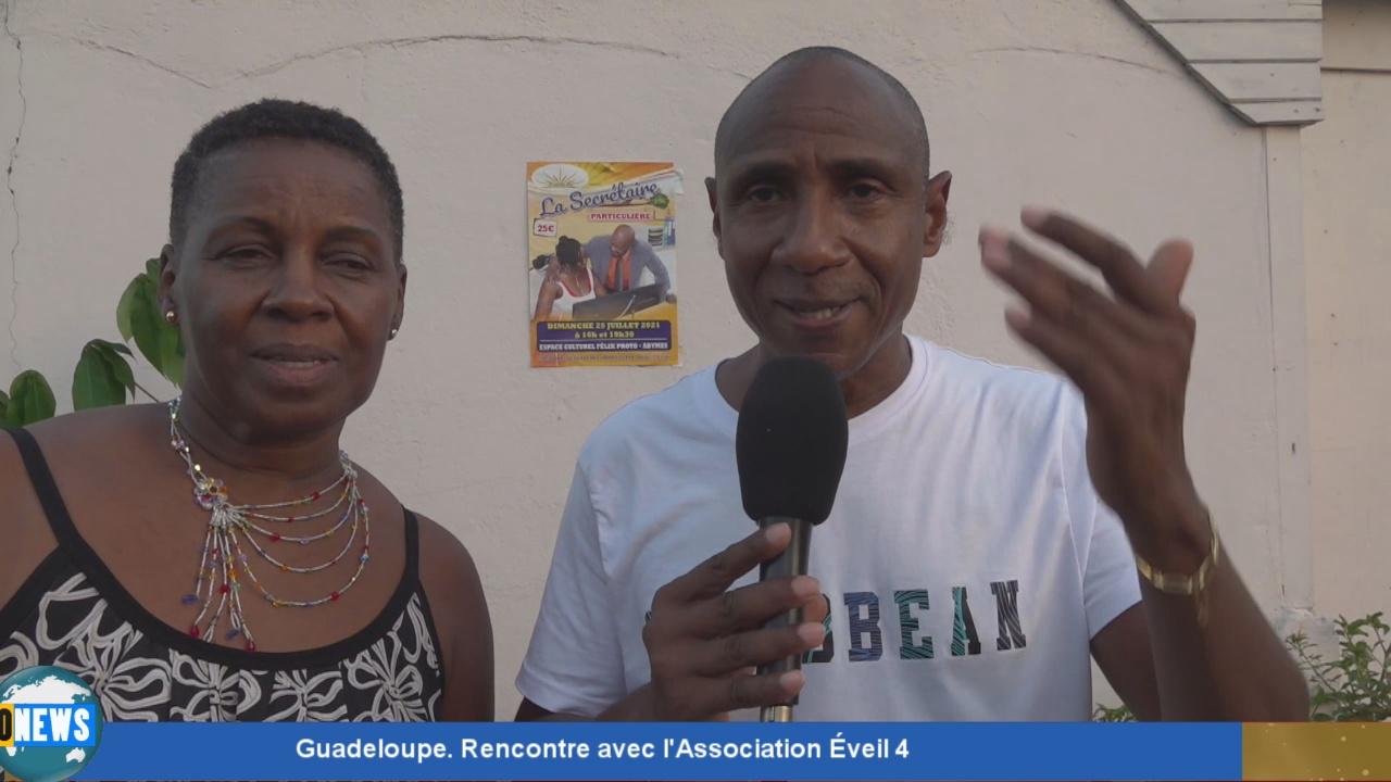 [Vidéo] Onews Guadeloupe. Rencontre avec l'Association Éveil 4