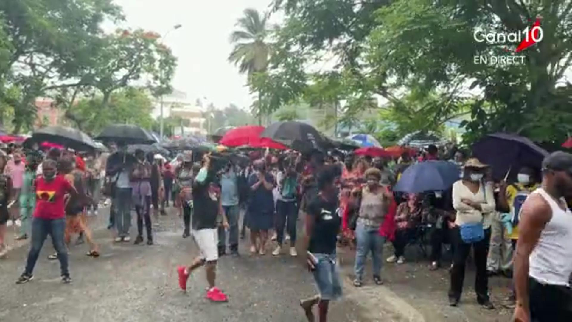 [Vidéo] Onews Guadeloupe. Rassemblement Anti pass Sanitaire