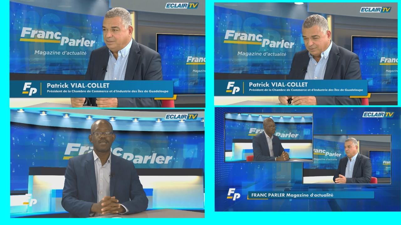 [Vidéo] Guadeloupe. Patrick VIAL-COLLET Président de la CCI et des iles de Guadeloupe  invité de Thierry FUNDERE