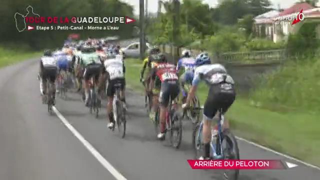 [Vidéo] Guadeloupe. Tour cycliste Départ de la 5ème étape Petit canal- Morne à l'eau