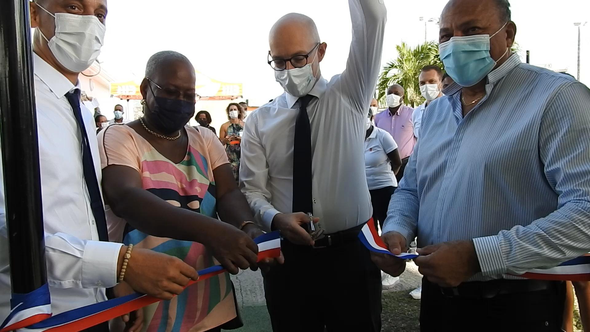 [Vidéo] Martinique. Inauguration du Centre de ligue de Tennis Germain SOUMBO au Lamentin