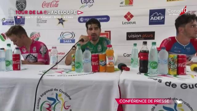 [Vidéo] Guadeloupe. 5ème étape du tour cyciste Victoire de Polychronis Tzortzakis