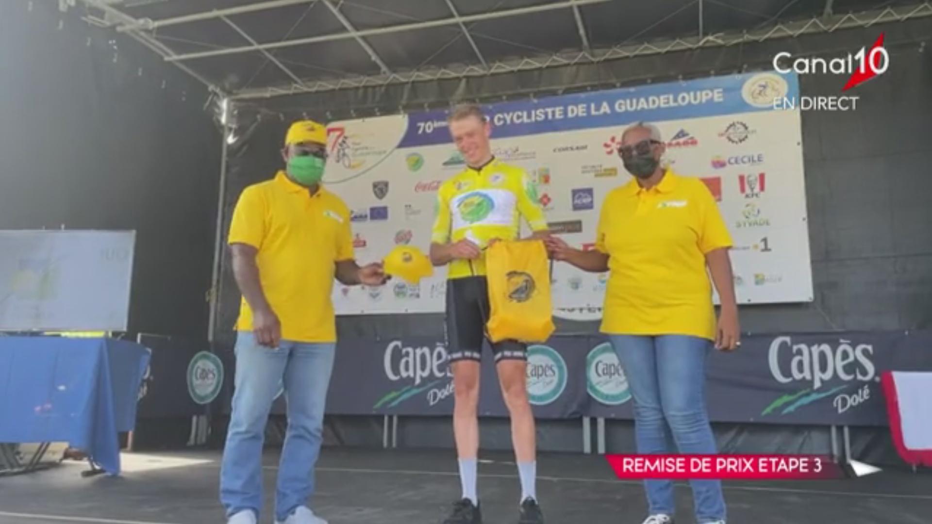 [Vidéo] Tzortzakis Polychronis (Kuwait Pro)remporte la 3e étape du Tour de la Guadeloupe