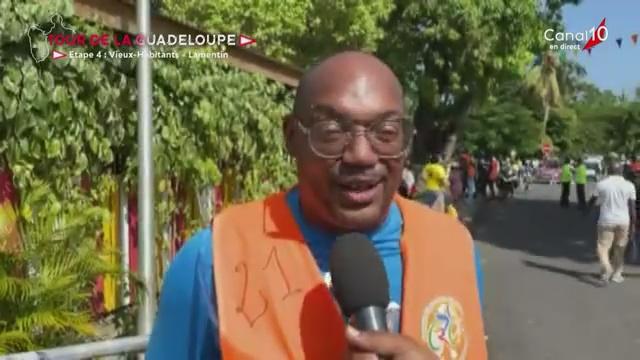 [Vidéo] Onews Guadeloupe. Tour cycliste 4ème étape Départ Vieux Habitante- Lamentin