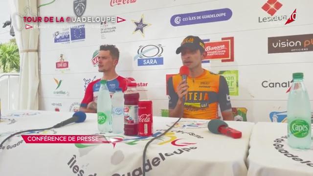 [Vidéo] Daniel BONILLA Team Inteja remporte la 4ème étape du Tour cycliste Vieux habitants- Lamentin