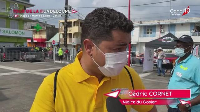 [Vidéo] Onews Guadeloupe. Départ 6ème étape tour cycliste Morne à l'Eau- Gosier